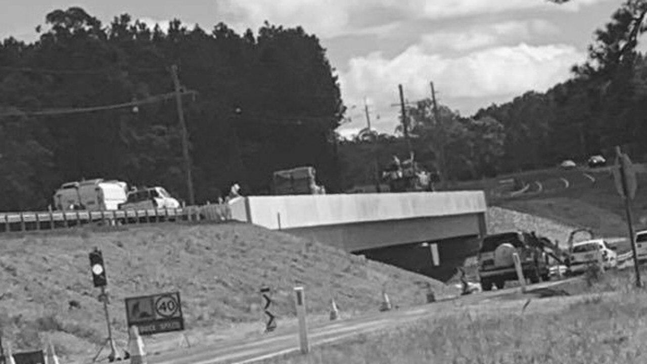 Construction of the $18 million Coondoo Creek Bridge is almost complete.