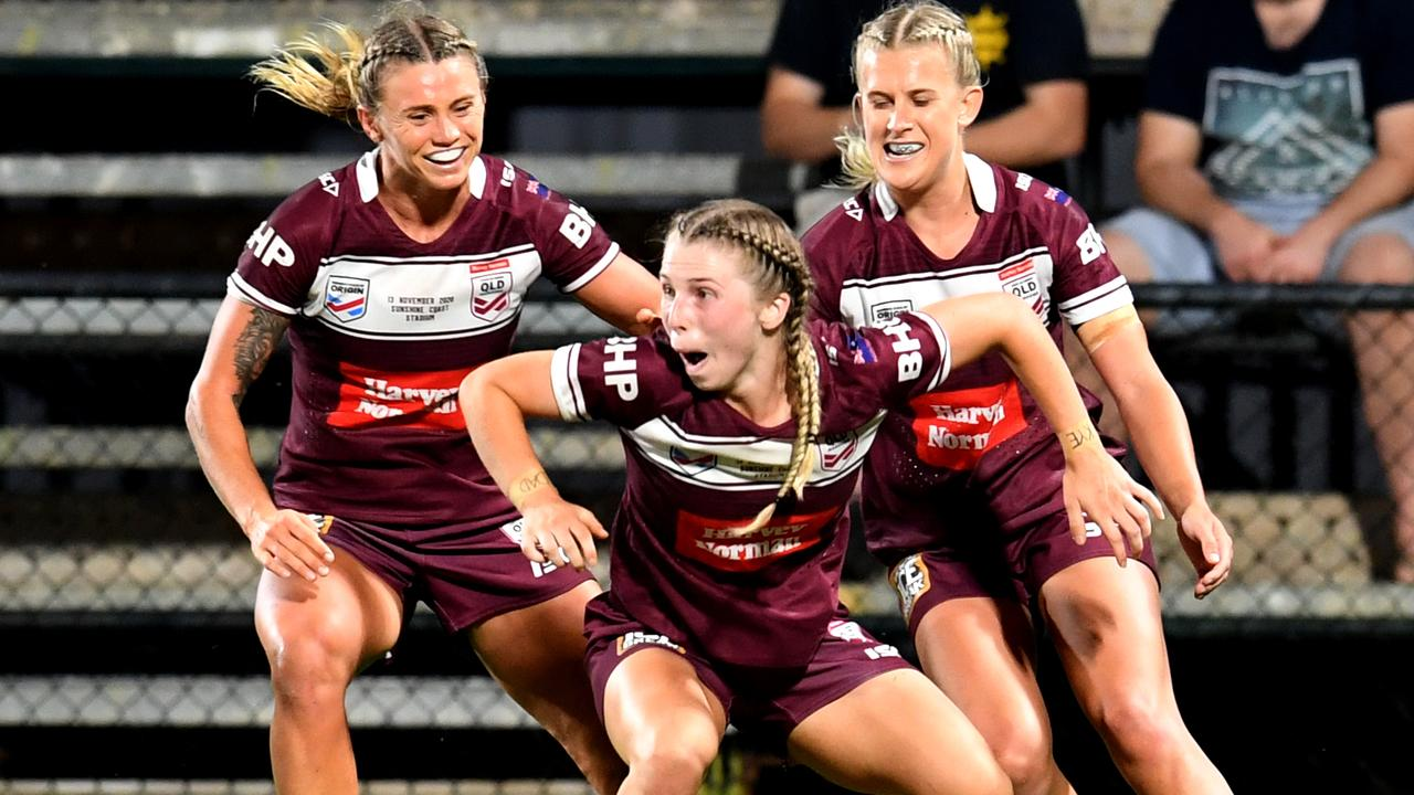 A fresh-faced Queensland filled with seven debutants pushed four years of failure aside to secure a courageous victory over NSW.