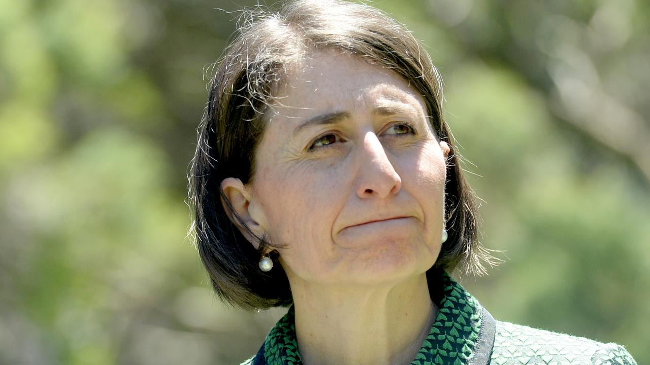 Ms Berejiklian is fed up with her Queensland counterpart. Picture: NCA NewsWire / Jeremy Piper