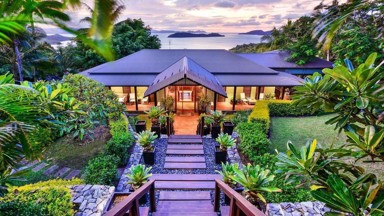 This stunning property at 11 Great Northern Highway, Hamilton Island has been reduced to $5,800,000. Picture: realestate.com.au