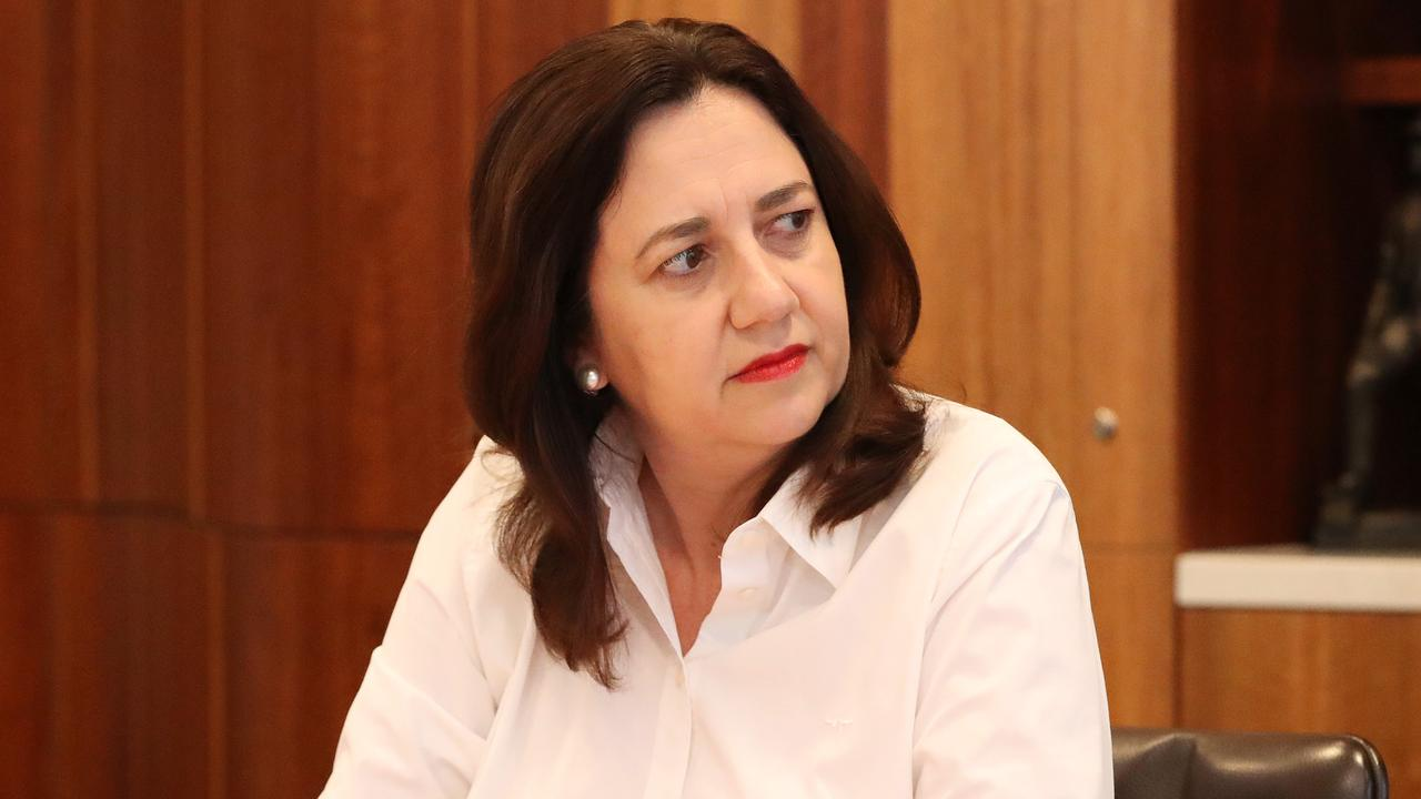An infectious disease expert has hit out at the Queensland Premier, saying her ongoing border closure with Greater Sydney won't work.