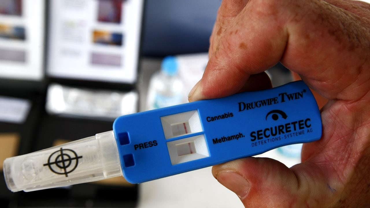 A Gladstone woman tested positive for drugs two days after using.