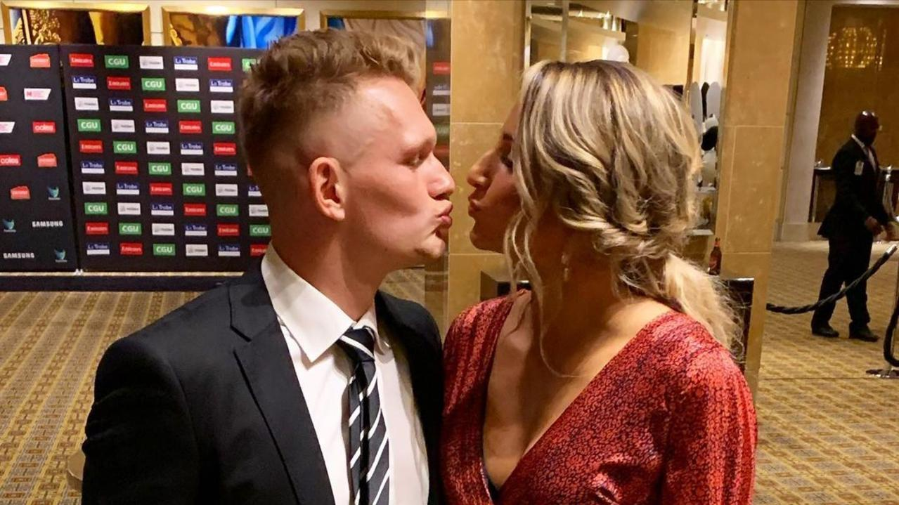 """Adam Treloar was left """"broken-hearted"""" by his exit from Collingwood, but the club says it only happened because of his wife."""