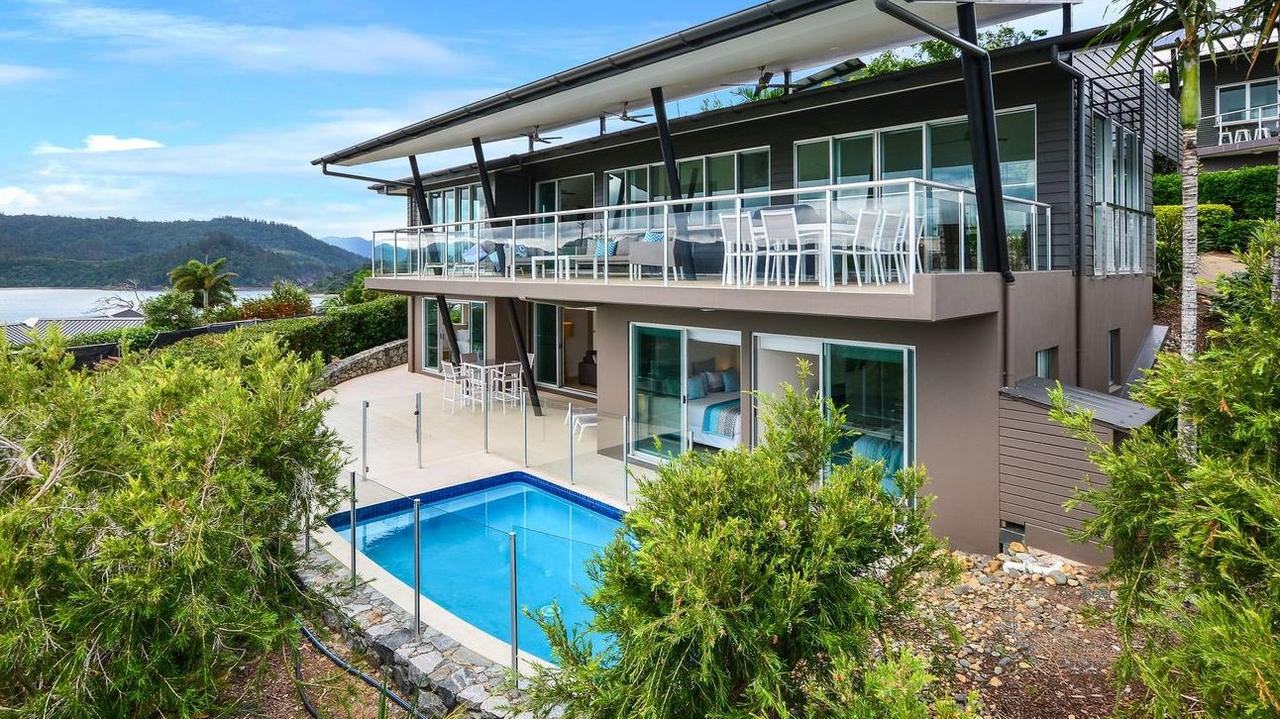 1/18 Whitsunday Boulevard, Hamilton Island is up for sale between $1,950,000 to $2,150,000. Picture: realestate.com.au