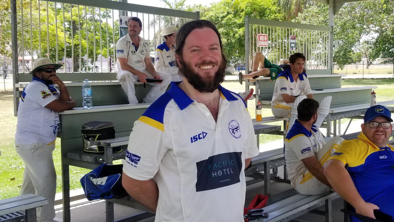 Capricorn Coast Batsman Liam Saxby.