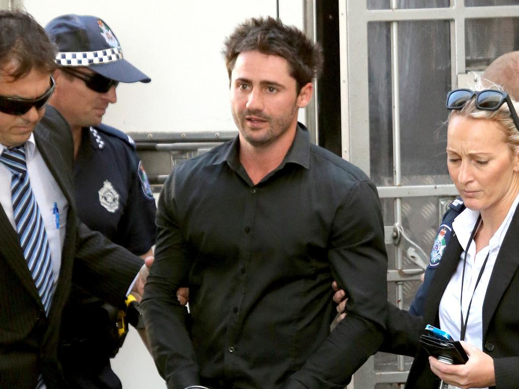 Daniel Heazlewood killed his mum during an alleged struggle in their Gold Coast Housing Commission unit. Picture Mike Batterham