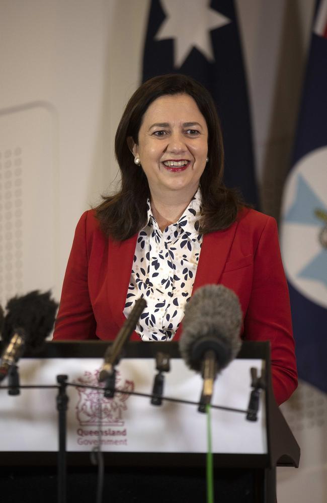 Queensland Premier Annastacia Palaszczuk. Picture: NCA NewsWire / Sarah Marshall