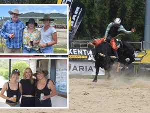 THRILLS AND SPILLS: Bold riders take on top bulls Airlie