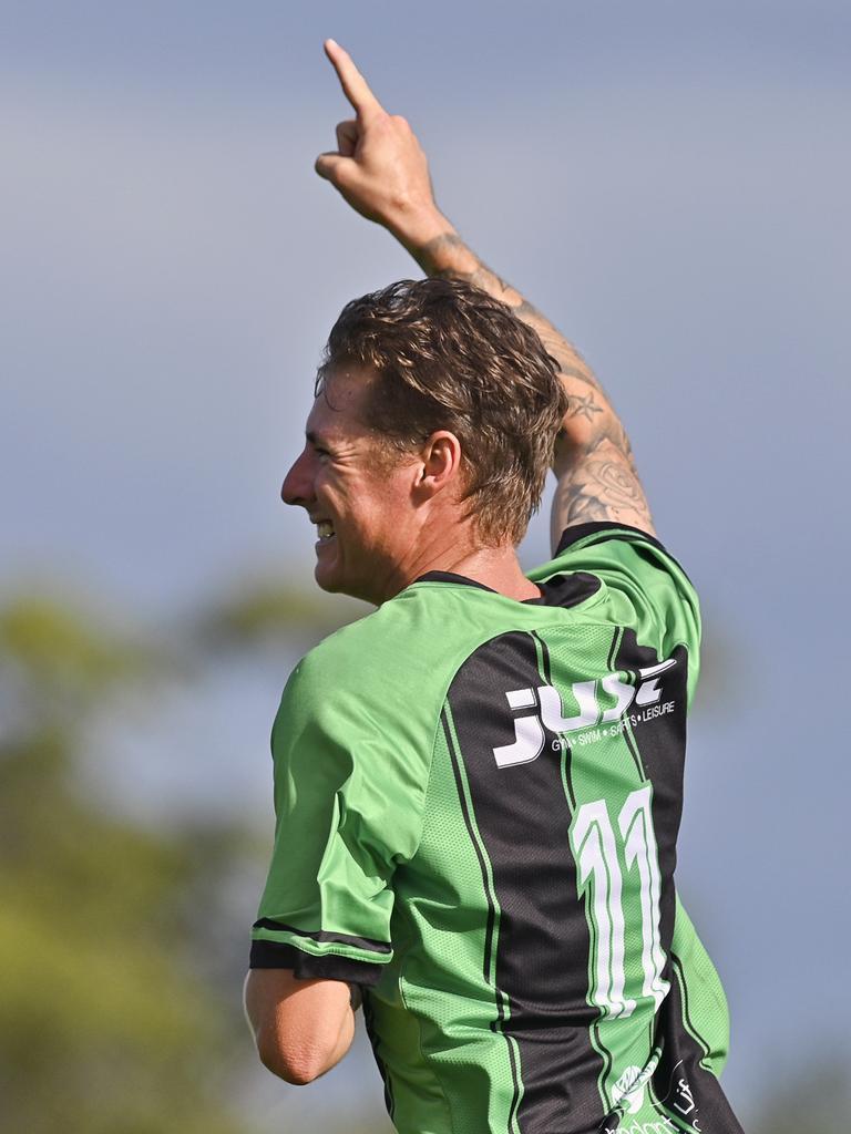 Ipswich Knights goal scorer Nick Edwards. Picture: Cordell Richardson