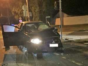 Young driver charged after crashing into traffic lights
