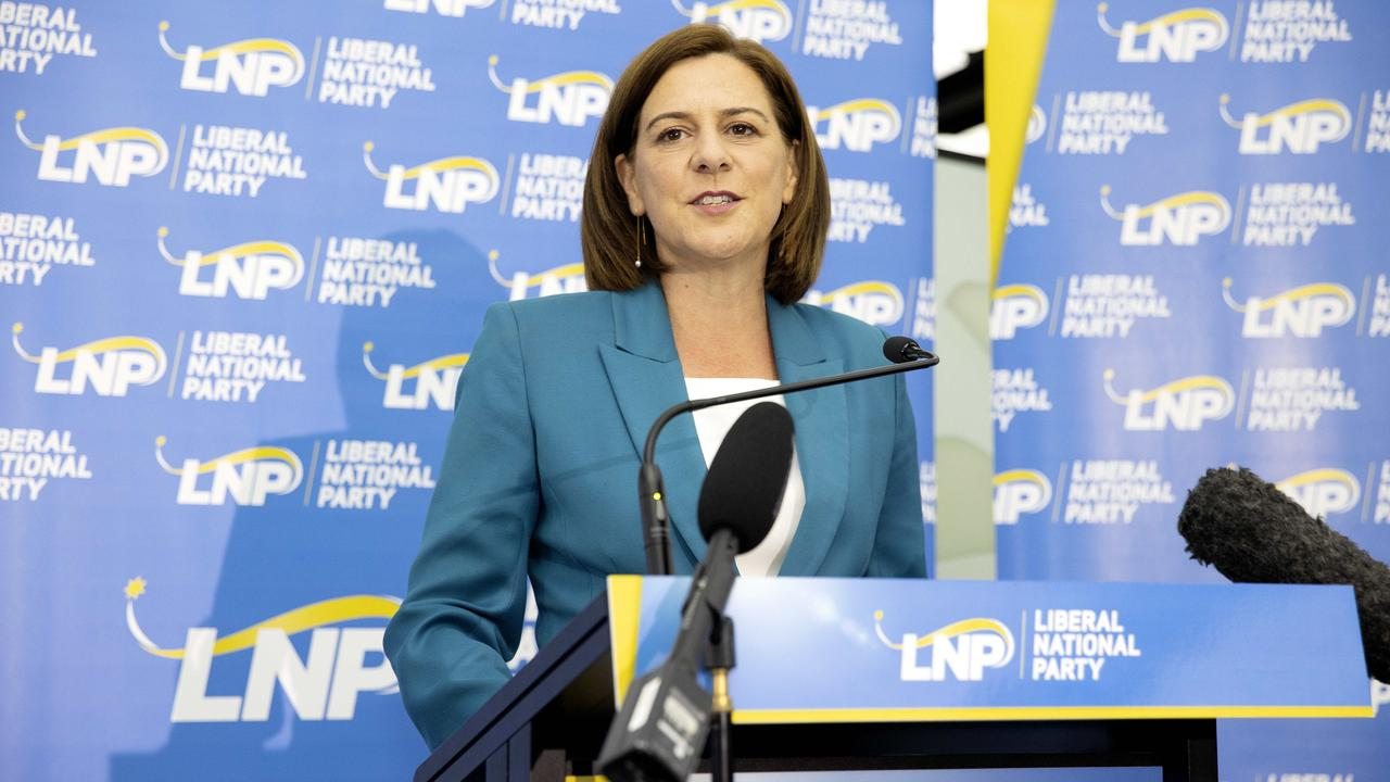 Former LNP leader Deb Frecklington will be the opposition spokeswoman for water and the construction of dams. Picture: NCA NewsWire / Sarah Marshall