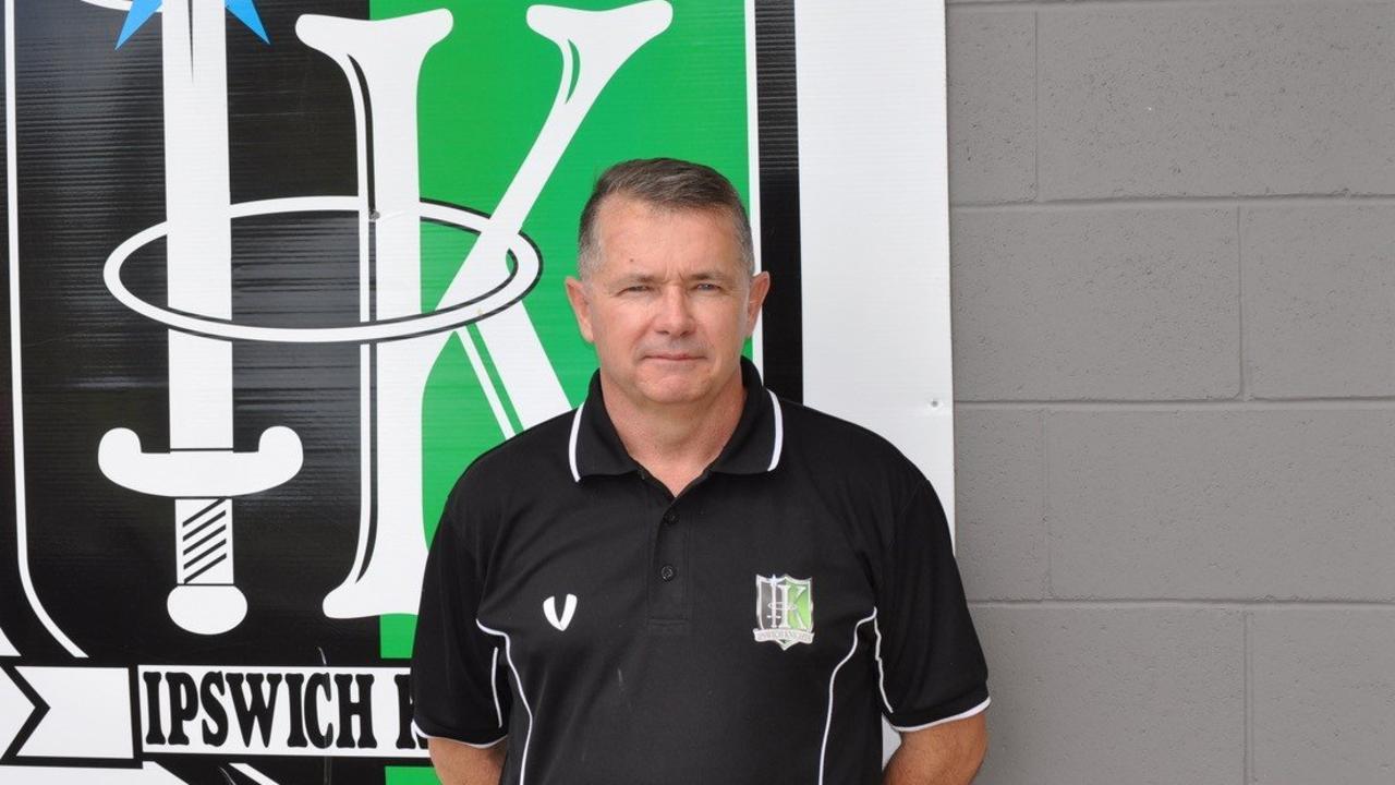 Ipswich Knights head coach Andy Ogden