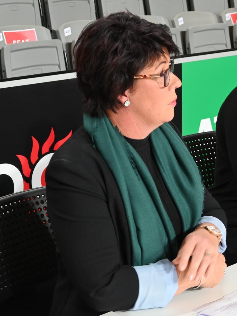 USQ Ipswich Jets head coach Tracey Jeanes-Fraser.