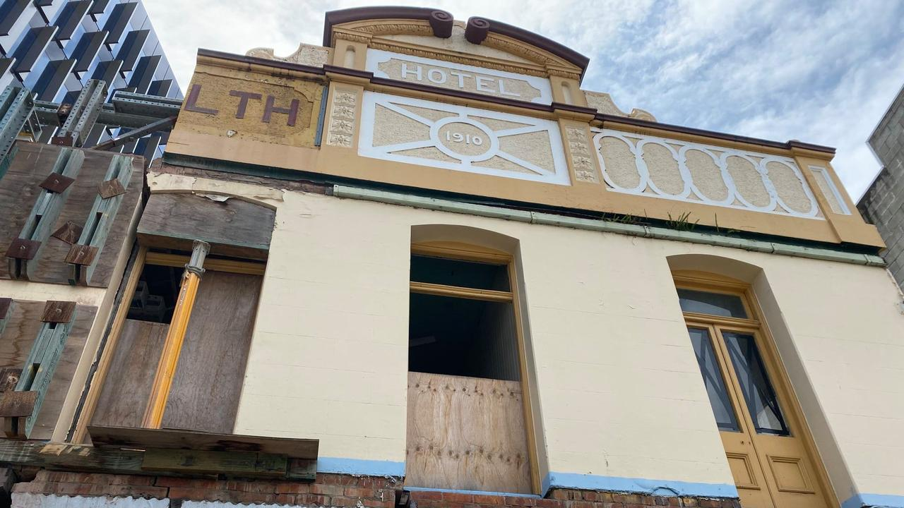 The 110-year-old Commonwealth Hotel, also known as Murphy's Town Pub, is being refurbished at a cost of about $6 million.