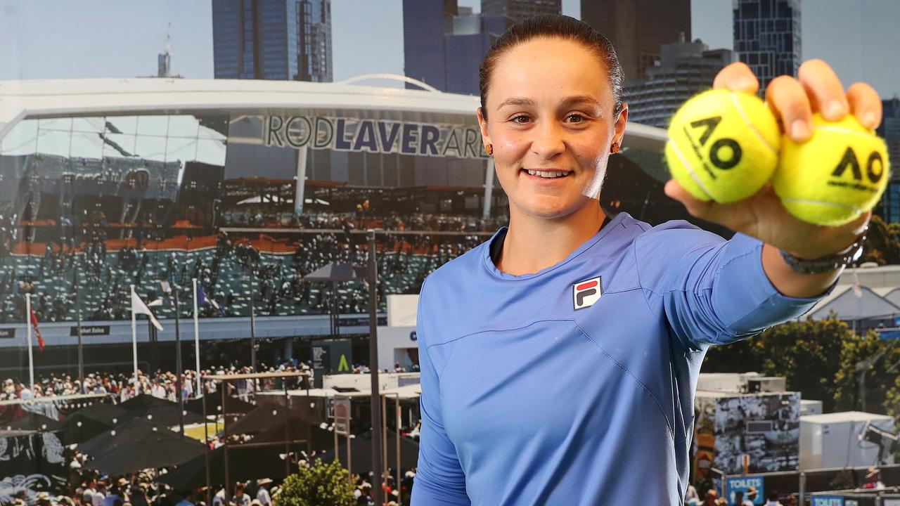 Aussie star Ash Barty will be a major drawcard in Melbourne during the summer of tennis.