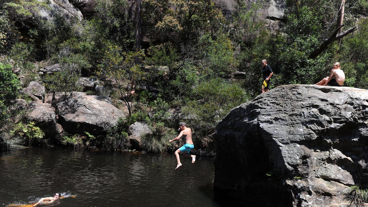A seven-year-old boy has died after being found unconscious in Jellybean Pool at Glenbrook.
