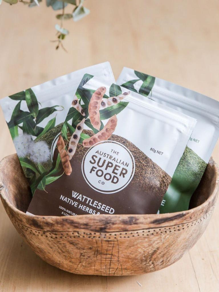 The Australian Superfood Co wattleseed range. Picture: Facebook
