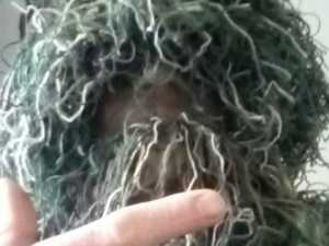 Man disguised as bush entered school, called out at children