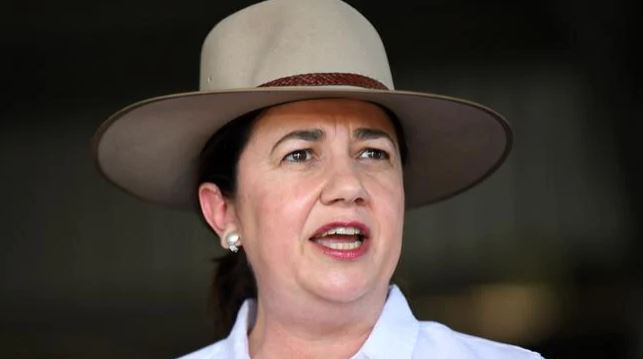 Queensland Premier Annastacia Palaszczuk has slammed shut the border to Adelaide. Picture: NCA NewsWire / Dan PeledSource:News Corp Australia