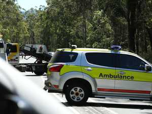 Two people in hospital after cars collide in West Mackay