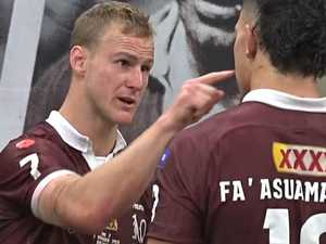 Revealed: What DCE said to Tino after Origin brawl