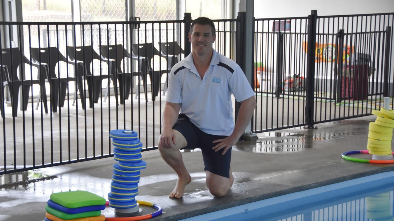 Above & Beyond Swim School co-owner Shad Royston.