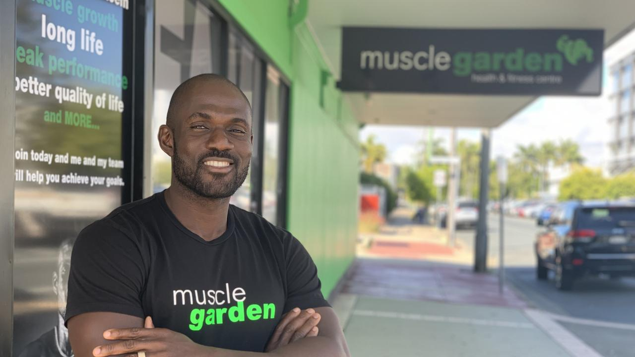 Kay Nyenuh, owner of Muscle Garden gym, says a healthy lifestyle was more important than seasonal fitness for summer. Picture: File