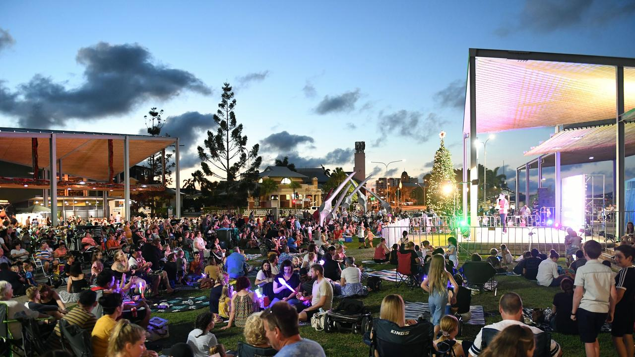 Mayor Greg Williamson said the traditional New Year's Eve fireworks on the Pioneer River were not possible during the pandemic. Picture: Tony Martin