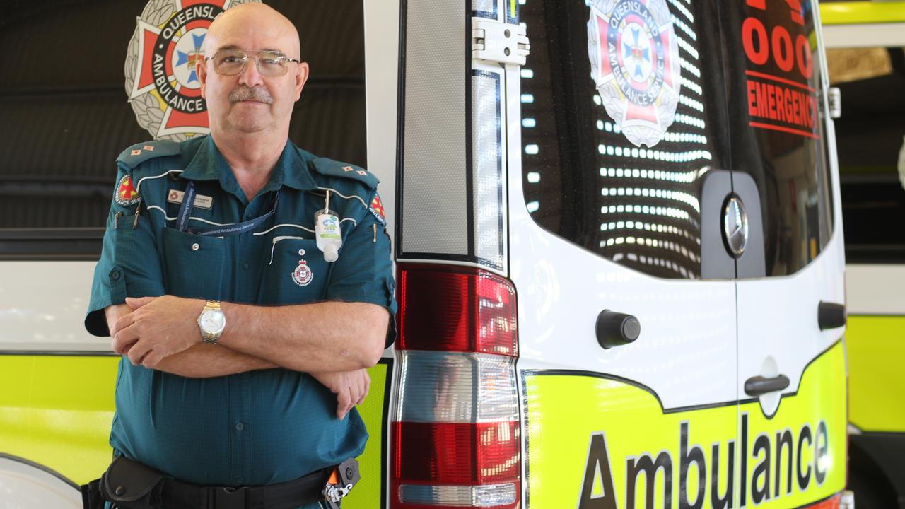 SWIM SAFETY MESSAGE: Queensland Ambulance Service Burnett Coast Station Acting Officer In Charge Steve Smith is urging parents and care takers to keep a close eye on children when they're in the water this summer.