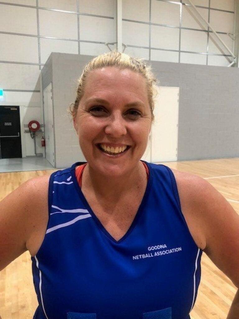 Goodna Sapphires captain Robyn Walsh.
