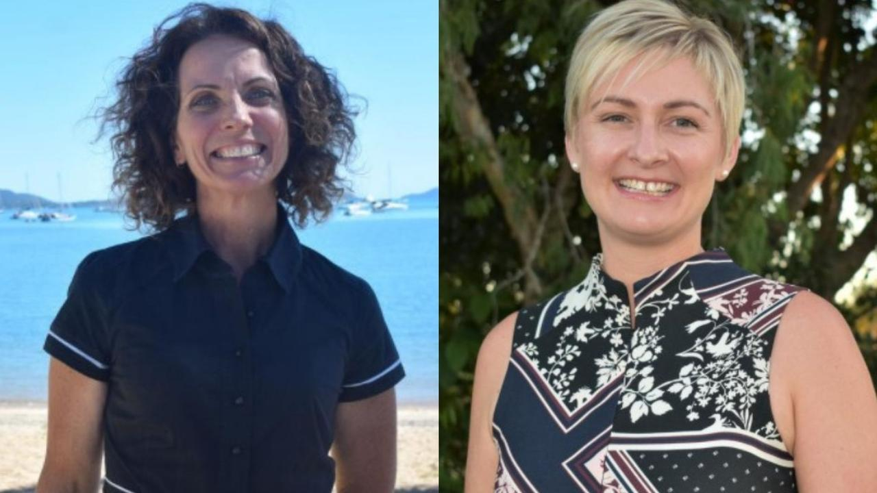 ALP's Whitsunday candidate Angie Kelly and LNP's candidate Amanda Camm. Picture: Laura Thomas, Heidi Petith