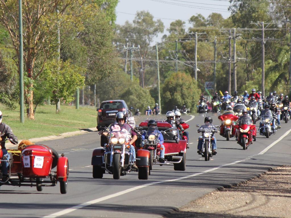 The Annual Maranoa Motorbike Toy Run