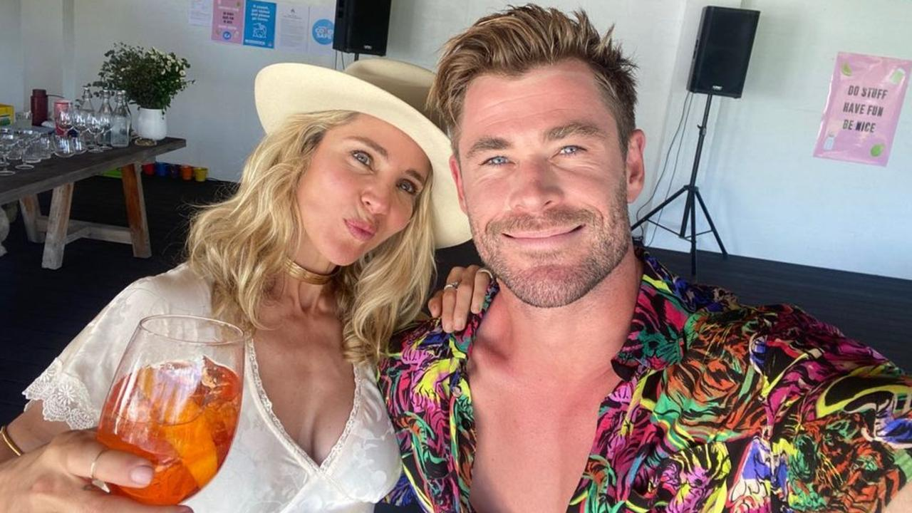 Chris Hemsworth and Elsa Pataky.