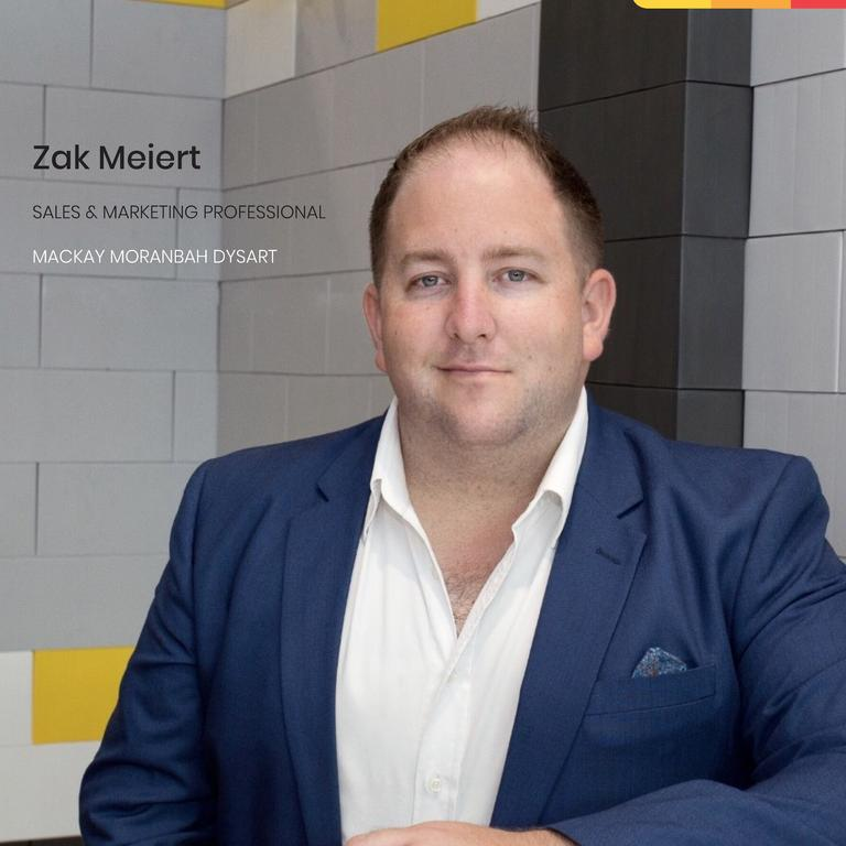 LJ Hooker Mackay real estate agent Zak Meiert has been voted by the Daily Mercury's readers as the best agent for 2020. Picture: Contributed
