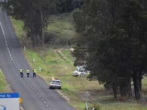 Lowood man, 50, dies in single vehicle crash