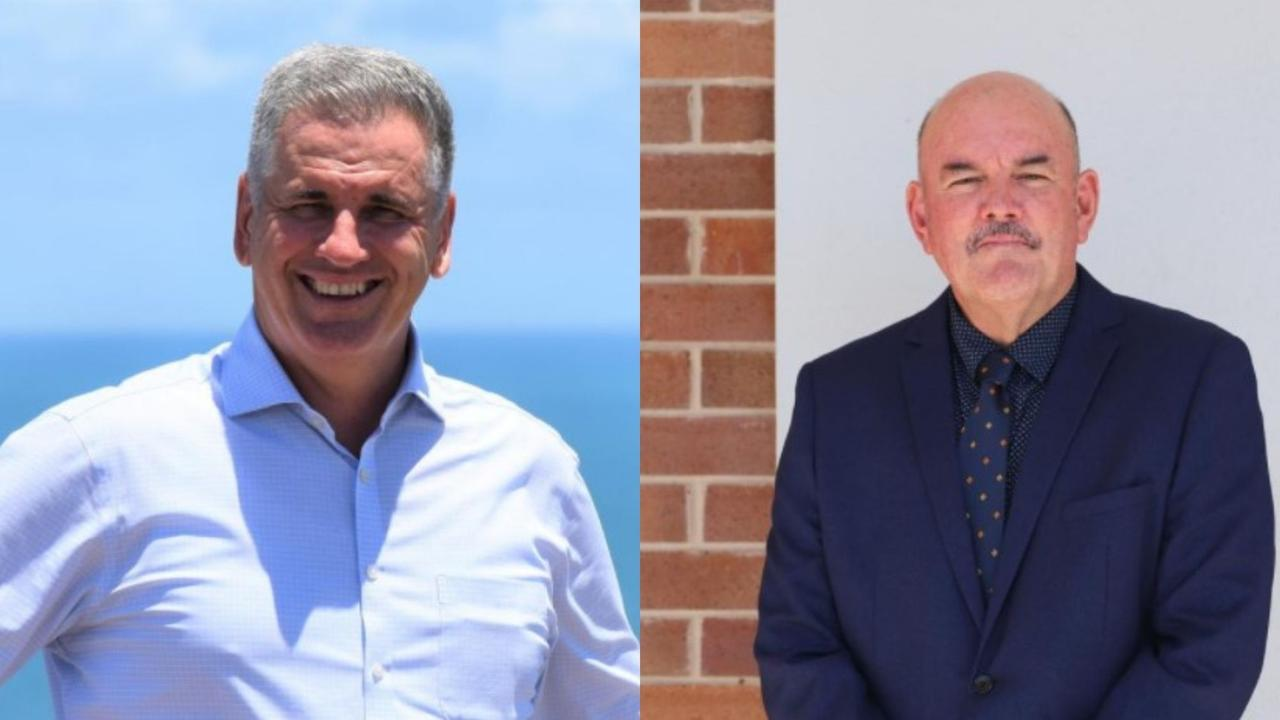 Burdekin MP Dale Last and ALP candidate Mike Brunker divided votes in this year's election race. Picture: Supplied