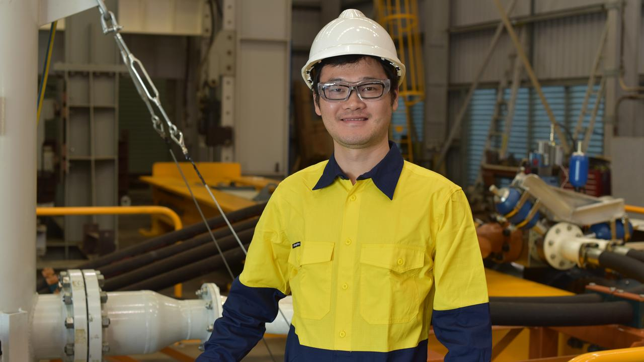 CQUniversity researcher Dr Qing Wu has received an Australian Research Council Discovery Early Career Researcher Award to help understand issues around track buckling, train derailments and train-track dynamics. Picture: Contributed