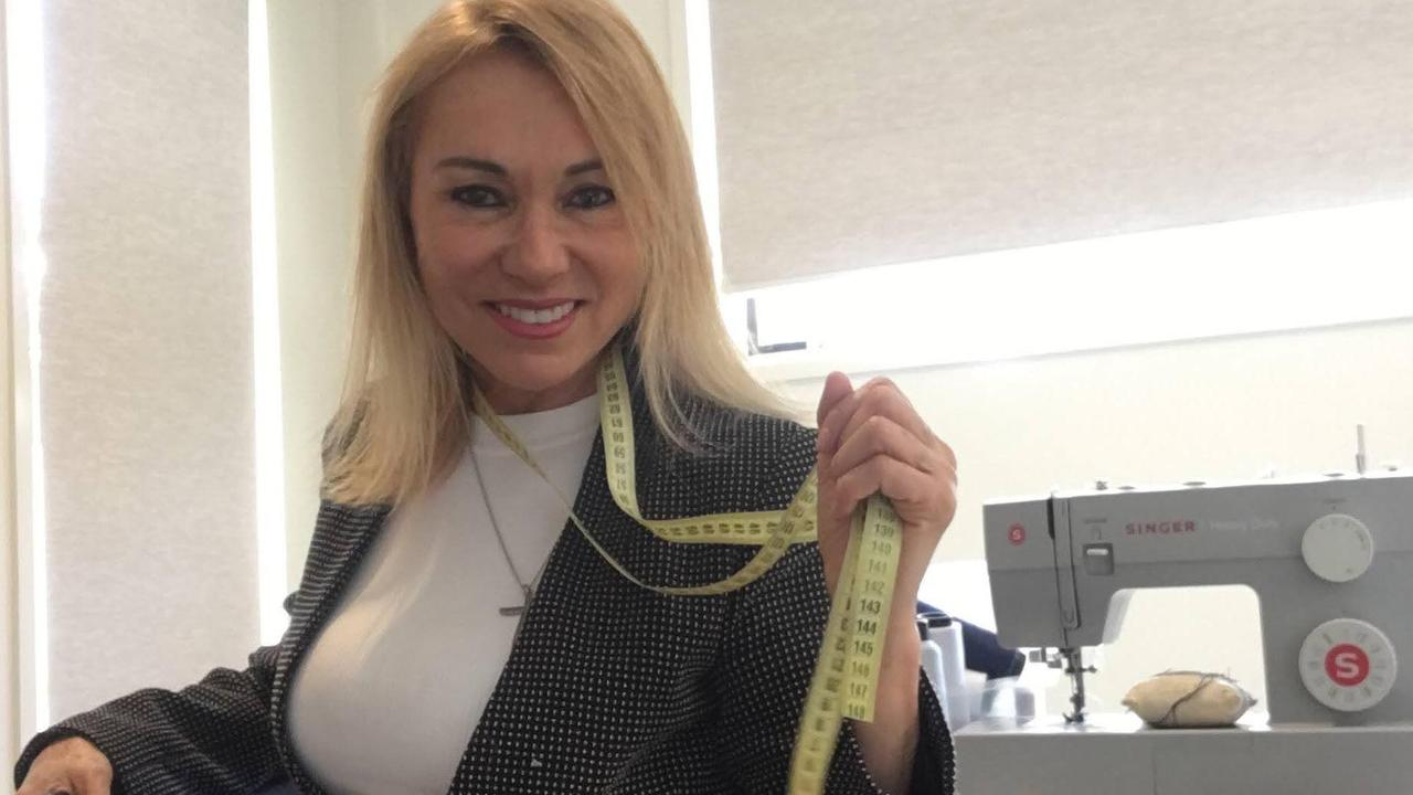Euda Nunes got straight back into sewing to bring in some cash after moving from South America to Australia.