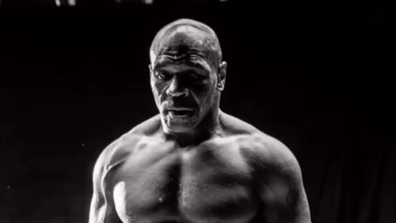 Mike Tyson is looking jacked