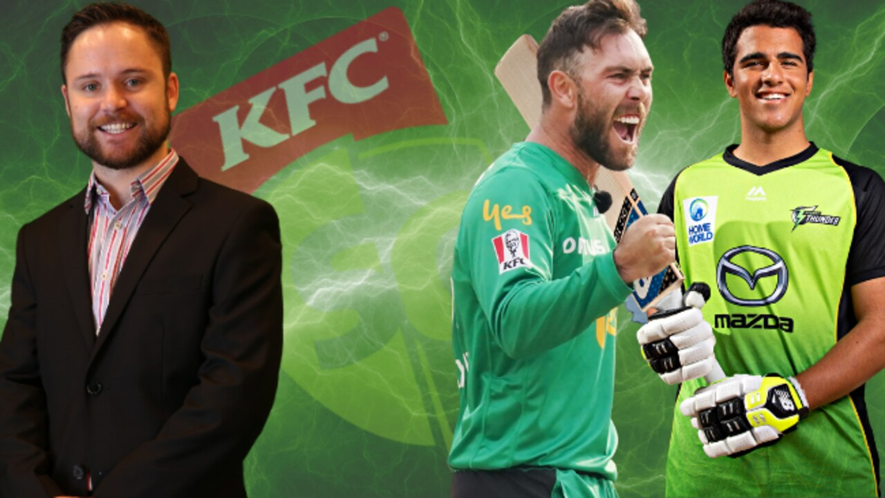 Tom Sangster has named both Glenn Maxwell and Ollie Davies in his KFC SuperCoach BBL team.