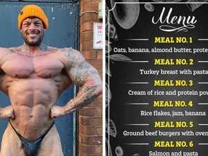 Hulking bodybuilder's absurd daily intake