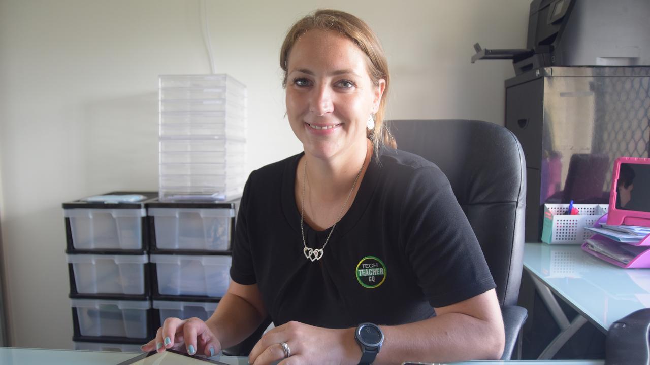 Aniek Fletcher has started a business helping people learn technology called Tech Teacher CQ.