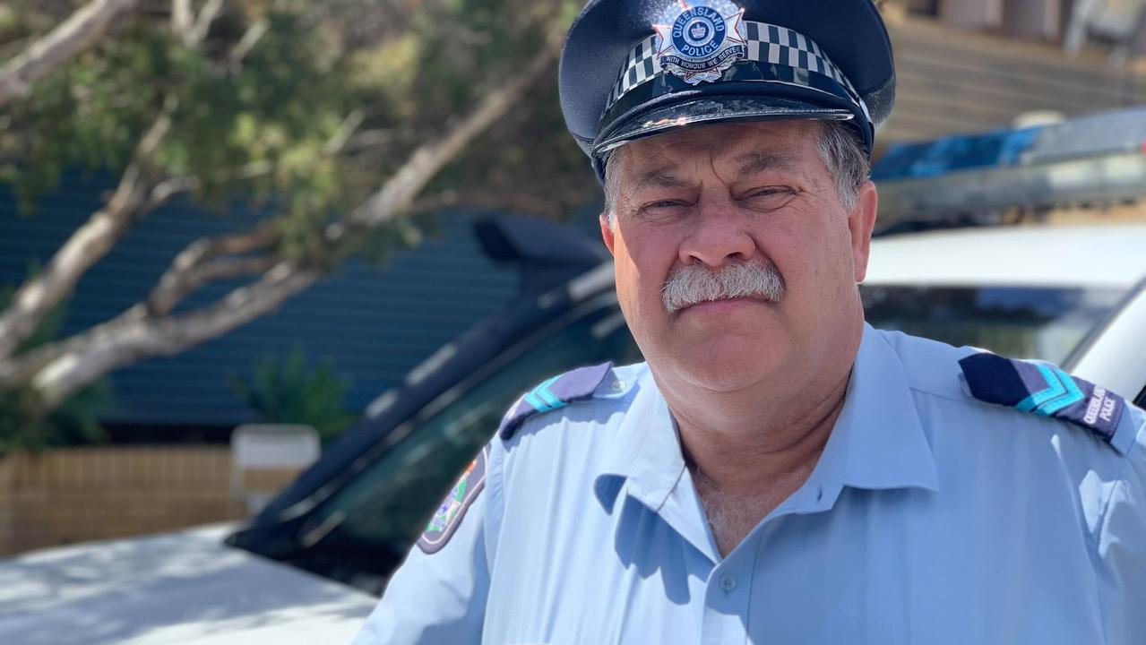SURVIVE THE DRIVE: Dalby Burnett district crime prevention coordinator senior constable Dan O'Hara speaking of a terrible tragedy he responded to in 1994 near Goondiwindi. Picture: Sam Turner