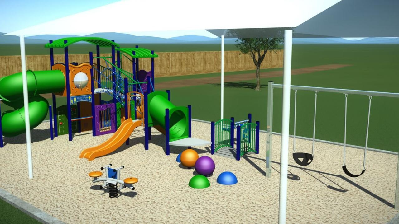 Mackay Regional Council has released concept designs for a new playground at Busuttin Drive Park, Eimeo, which is part of a $500,000 park upgrade project.
