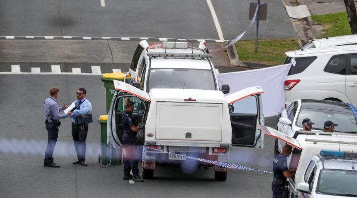 A man has been found dead in Whiting street, Labrador. Picture: Nigel Hallett