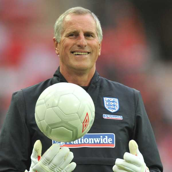 Ray Clemence was a well-loved part of England's football legacy. Photo: @England/Twitter