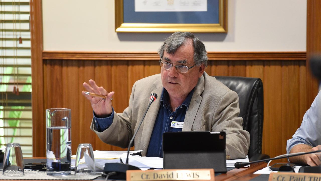 Fraser Coast Regional Council - Cr. David Lewis.