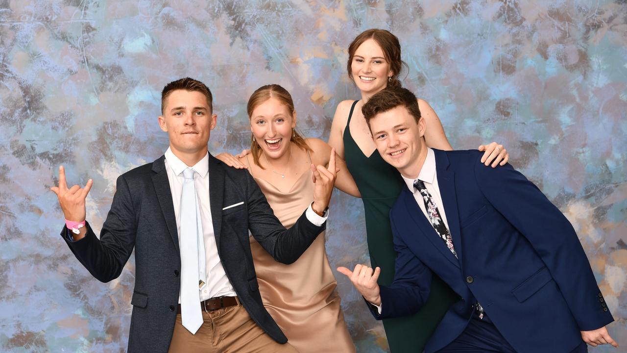 McAuley Catholic College formal. College Captains and Vice-Captains - Joel Imeson, Laura Moloney, Rachel Solomon, Quinnlan Boyce