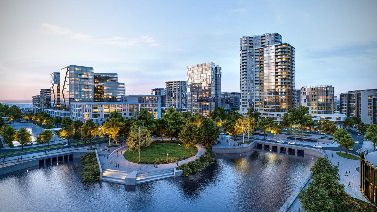 An artist's impression of the Maroochydore City Centre.