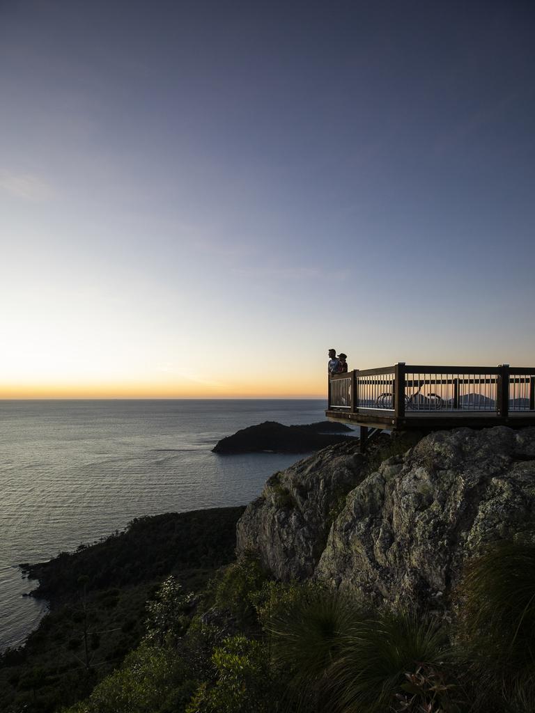 Passage Peak lookout on Hamilton Island. Photo: Tourism Events Queensland.